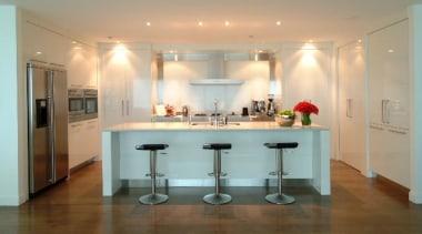 Newmarket - ceiling | countertop | floor | ceiling, countertop, floor, flooring, interior design, kitchen, property, real estate, room, table, orange, gray