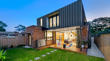 Read the full story architecture, backyard, building, courtyard, design, estate, facade, grass, home, house, interior design, land lot, landscaping, property, real estate, residential area, roof, room, yard, teal
