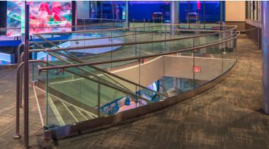 Architectural Bent Glass - NBA Disneyland Orlando - brown