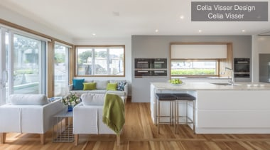 Highly Commended – Celia Visser Design – Tida countertop, floor, home, interior design, kitchen, living room, real estate, gray
