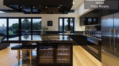 Highly Commended – Vekart Tracy Murphy – Tida countertop, interior design, kitchen, property, real estate, black