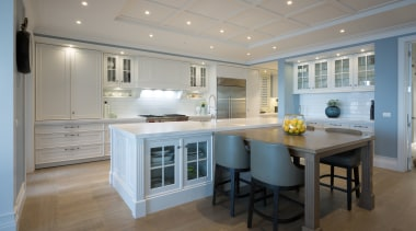 Campbells Bay - cabinetry   ceiling   countertop cabinetry, ceiling, countertop, cuisine classique, floor, flooring, home, interior design, kitchen, real estate, room, wood flooring, gray