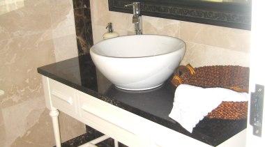 Bathroom Vanities - bathroom | bathroom accessory | bathroom, bathroom accessory, bathroom sink, ceramic, floor, flooring, plumbing fixture, product, sink, tap, tile, toilet seat, white