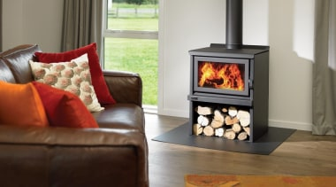Indoor Outdoor Wood Fires 3 fireplace, hearth, home, home appliance, living room, major appliance, stove, wood burning stove, gray