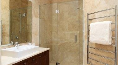 Bathroom Vanities - bathroom | bathroom cabinet | bathroom, bathroom cabinet, floor, flooring, home, interior design, plumbing fixture, room, tile, wall, wood flooring, orange, brown