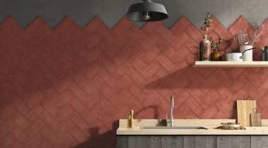 Vintage effect wall tiles, 100x200mm x 7mm thick, angle, floor, flooring, interior design, tile, wall, wood, red
