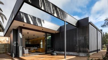 Open sesame – part of a major renovation white, black