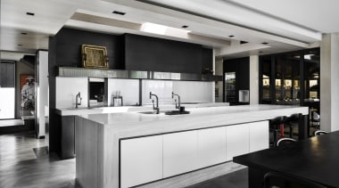 When planning the layout for this kitchen, designer