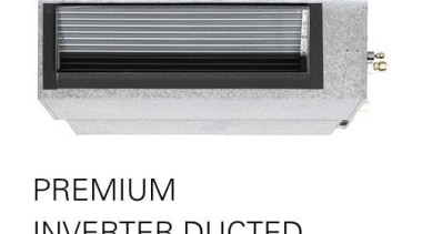 Premium Inverter Ducted product, white