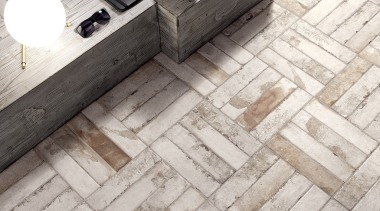 The Bricklane range of Italian made tiles are glazed floor, flooring, wood, white