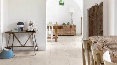 Salento adds charm and personality to a variety chair, floor, flooring, furniture, hardwood, home, interior design, laminate flooring, living room, property, room, table, tile, wood, wood flooring, white