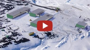 Scott base - geological phenomenon | snow | geological phenomenon, snow, gray