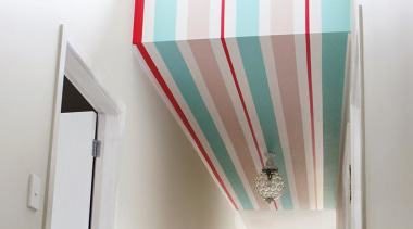 See Stripes ceiling, daylighting, house, interior design, light, light fixture, lighting, room, white