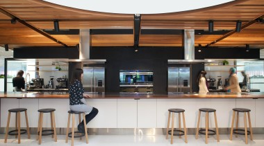 Shortlisted Entry Custance interior design, lobby, white