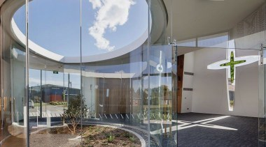 Sisters of Mercy 2 - apartment   architecture apartment, architecture, building, ceiling, facade, glass, headquarters, home, house, interior design, property, real estate, residential area, gray