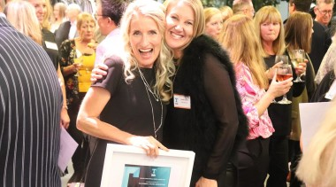 Toni Roberts and Leonie Metge - beauty | beauty, blond, crowd, event, fashion, black