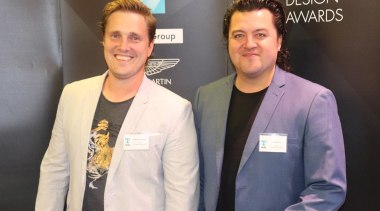 Stephen Loveday and RJ Kairua - SCE Stone event, gray, black