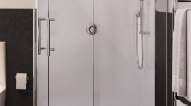 Choose from our classic range of distinctive TOTO angle, door, plumbing fixture, shower, shower door, gray