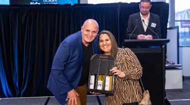 2019 TIDA New Zealand Homes presentation evening award, community, event, technology, black, blue