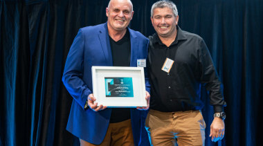 2019 TIDA New Zealand Homes presentation evening award, award ceremony, blue, electric blue, event, blue, black
