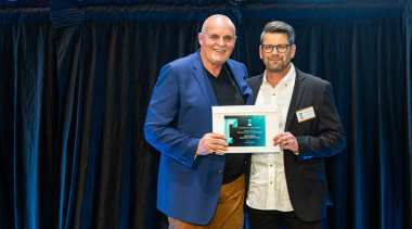 2019 TIDA New Zealand Homes presentation evening award, award ceremony, community, event, blue, black