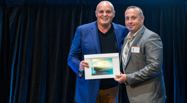 2019 TIDA New Zealand Homes presentation evening award, award ceremony, blue, community, event, black