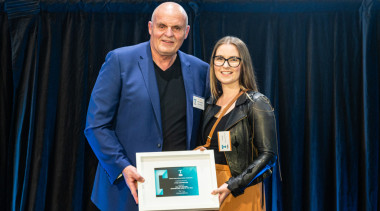 2019 TIDA New Zealand Homes presentation evening award, award ceremony, employment, event, job, black, blue