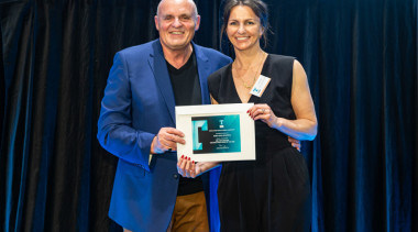 2019 TIDA New Zealand Homes presentation evening award, award ceremony, blue, employment, event, blue, black