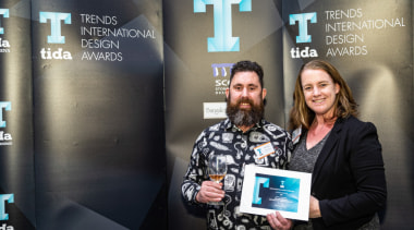 2019 TIDA New Zealand Homes presentation evening design, event, job, photography, technology, black, gray