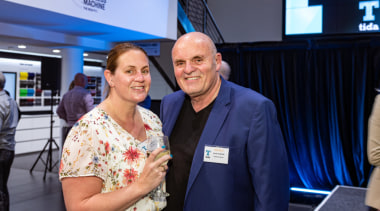 2019 TIDA New Zealand Homes presentation evening employment, event, hand, job, product, real estate, technology, yellow, blue
