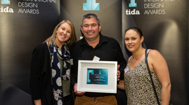 2019 TIDA New Zealand Homes presentation evening award, award ceremony, electronic device, event, photography, technology, black