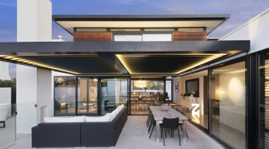 Winner – 2016 Tida New Zealand Designer New architecture, daylighting, house, interior design, real estate, roof, gray