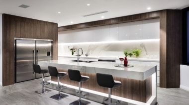 Winner – Urbane Projects - countertop | interior countertop, interior design, kitchen, gray