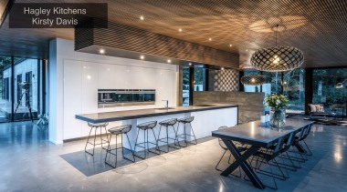 Winner –Hagley Kitchens Kirsty Davis – Tida New architecture, ceiling, estate, home, interior design, real estate, table, gray