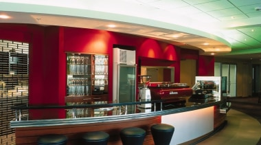 Anyone for a study break? - cafeteria   cafeteria, ceiling, interior design, lobby, restaurant, table
