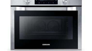Samsung Electronics New Zealand has revealed its Home home appliance, kitchen appliance, kitchen stove, microwave oven, oven, product, product design, toaster oven, white, black