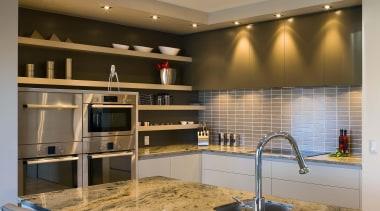 pauanui  kitchen detail 3 - pauanui__kitchen_detail_3 - cabinetry, countertop, interior design, kitchen, brown, gray