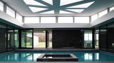 Christchurch House - Christchurch House - architecture | architecture, condominium, daylighting, estate, home, house, interior design, property, real estate, roof, swimming pool, window, black