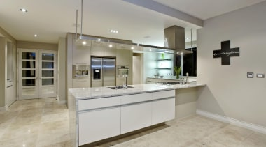 122orewa 03 - Orewa - cabinetry | countertop cabinetry, countertop, floor, flooring, interior design, kitchen, property, real estate, room, gray