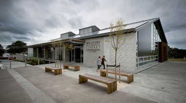 MERIT WINNERWellsford War Memorial Library (4 of 4) architecture, house, real estate, sky, tourist attraction, gray