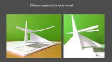 by Fendy Fu - The Crane - angle angle, energy, line, product, product design, technology, wind, gray