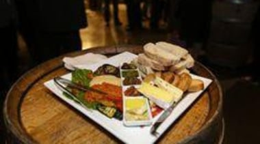 Vegetarian Mezze Platter — at Villa Maria Estate. appetizer, breakfast, brunch, cuisine, dish, food, meal, black