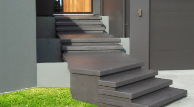 Cemcote Stairs After - Cemcote Stairs After - floor, stairs, gray