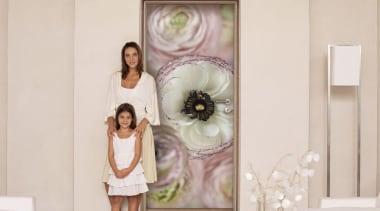 Day Dream Interieur - Italian Color Range - flower, furniture, girl, interior design, picture frame, room, window, gray