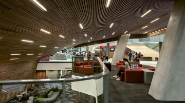 EXCELLENCE AWARDAUT Sir Paul Reeves Building (2 of architecture, interior design, brown