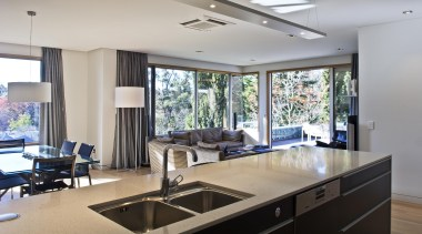 New Zealand Apartment Kitchen Designer of the Year countertop, interior design, kitchen, property, real estate, window, gray