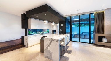 Winner Kitchen of the Year 2013 Victoria - estate, interior design, kitchen, living room, property, real estate, white