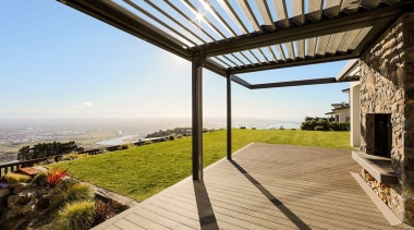 Enjoy the low-maintenance and lasting benefits of a architecture, estate, house, outdoor structure, property, real estate, roof, sky, walkway, white, brown