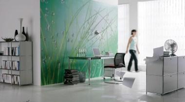 Aqua Interieur - Italian Color Range - desk desk, furniture, interior design, office, product, product design, gray, white