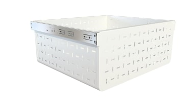 Tanova Ventilated Drawer in Classic White - 600mm box, product, product design, white